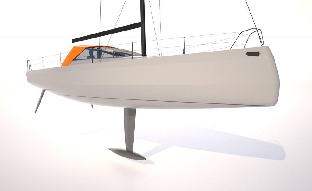 Rendering Bild Eindruck Bente39 Yacht Segeln
