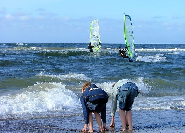 Surfen Windsurfen Kiten Surf Festival Fehmarn 2018 Event Wassersport